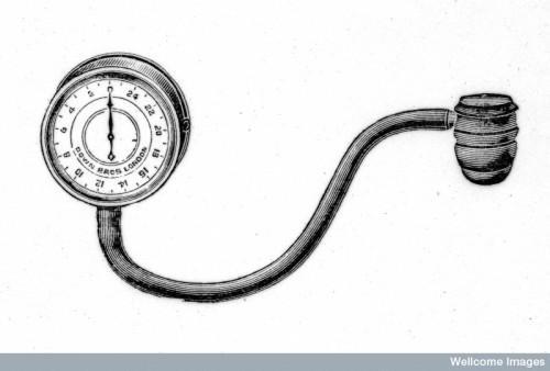 M0017687 Samuel Siegfried von Basch: Sphygmomanometer
